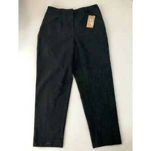 Halogen Pant Gray Medium Warm Polyester Elastic